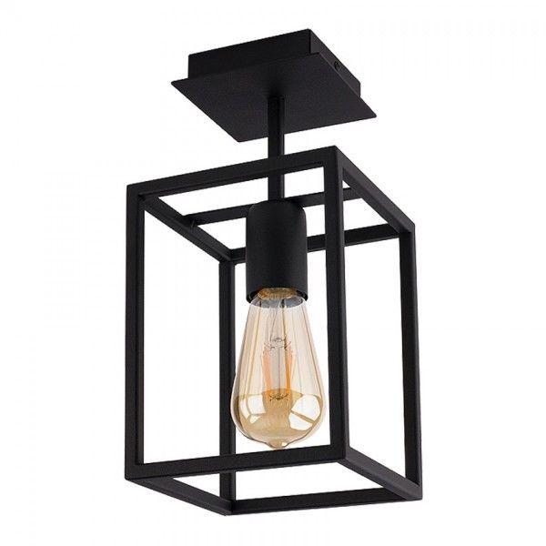 Lampa sufitowa loftowa czarna Crate 1 punktowa klatka 9045 - Nowodvorski Do -17% rabatu w koszyku i darmowa dostawa od 299zł !