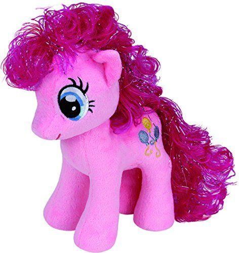 TY 90200 - My Little Pony - przytulanka różowa Pie, duża, 24 cm