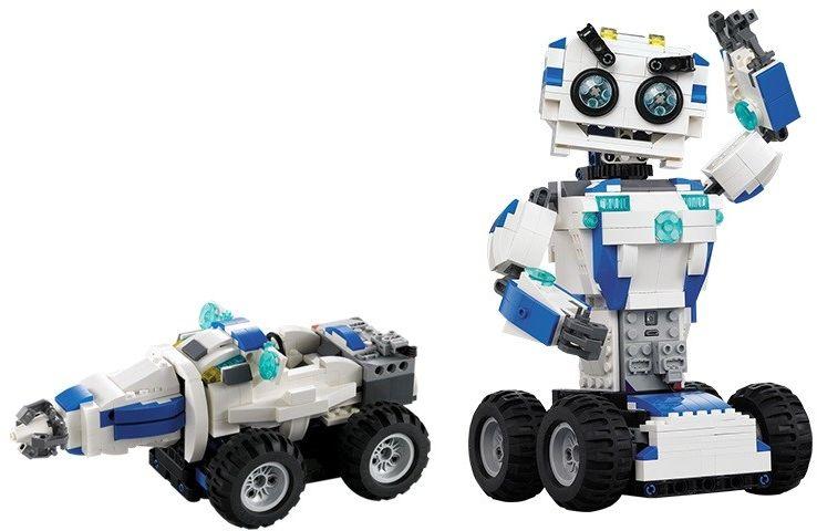 Robot / pojazd (2w1) - klocki CADA - ZDALNIE STEROWANY (C51028W)