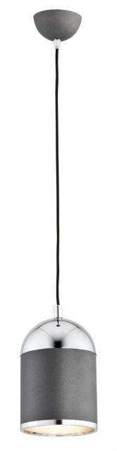 Lampa wisząca Andros 3590 Argon nowoczesna oprawa w kolorze antracytu