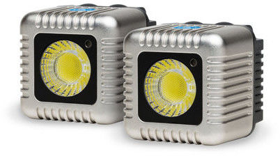 LUME CUBE - DUAL PACK SILVER