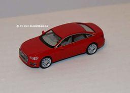 Herpa 430630-002 Audi A6 Limo, czerwony, kolor
