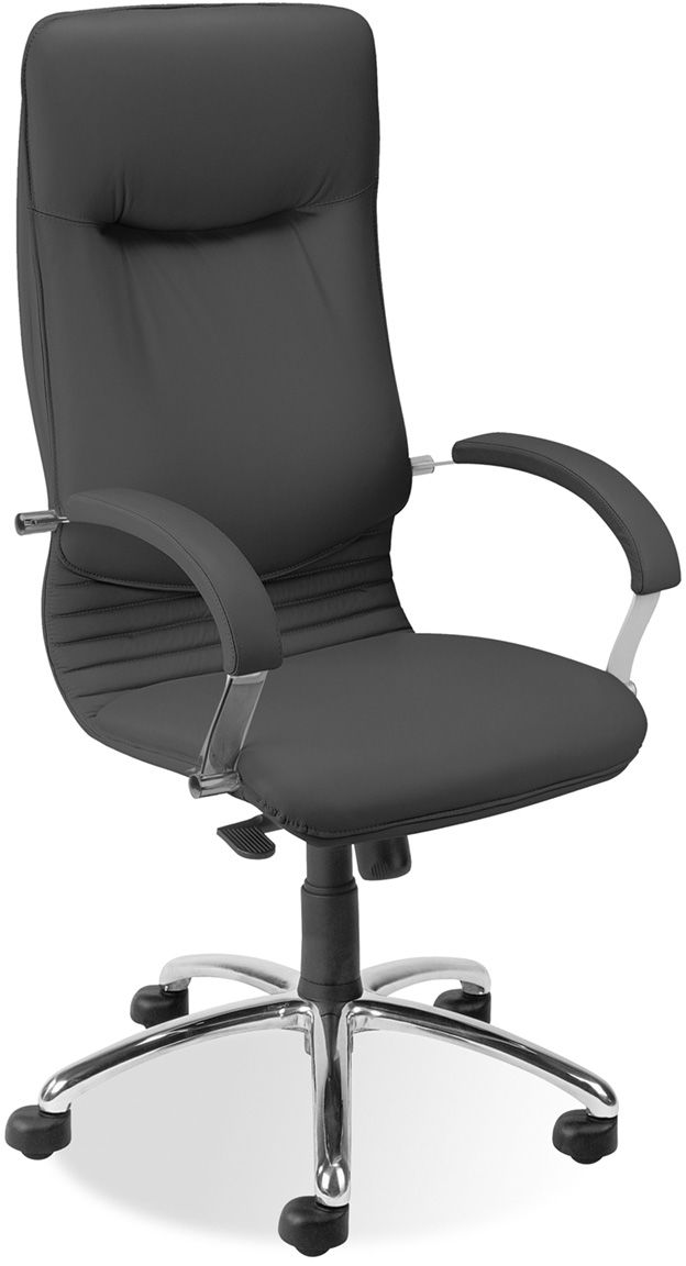 NOWY STYL Fotel gabinetowy NOVA ST04-POL chrome Multiblock