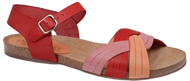 Hiszpańskie Sandały PILAR MONET 14000 Multicolor Rubi damskie