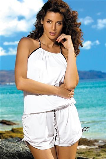 Tunika Leila Bianco M-312 biala (293)