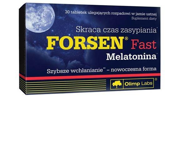 Forsen Fast z Melatoniną 30tab