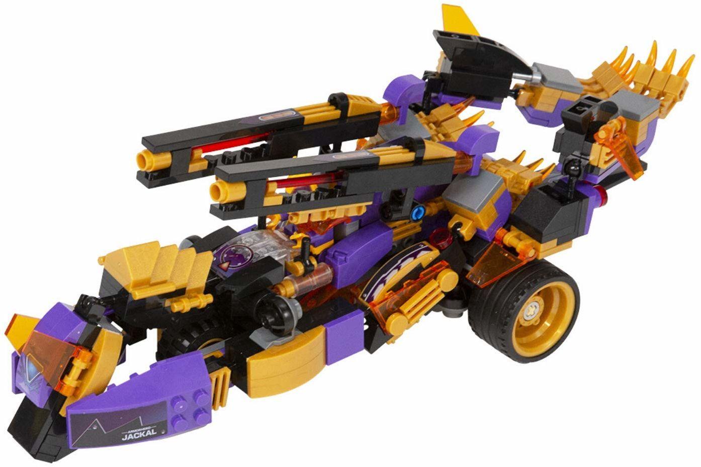 Pojazd transformer 2 w 1 + figurka Deserteon