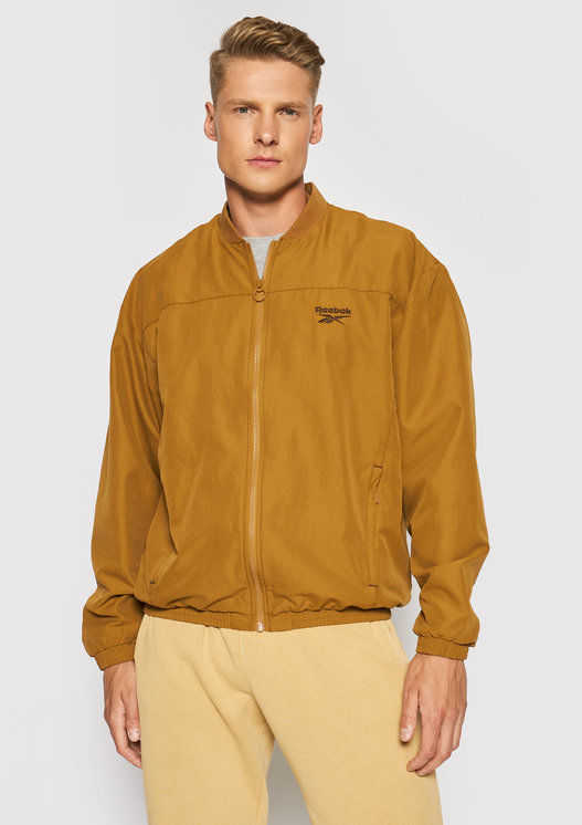 Kurtka bomber Classics Back Vector GS9136 Brązowy Relaxed Fit