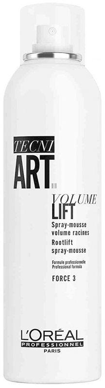 Loreal tecni.art VOLUME LIFT 3 pianka w sprayu-objętość u nasady 250ml