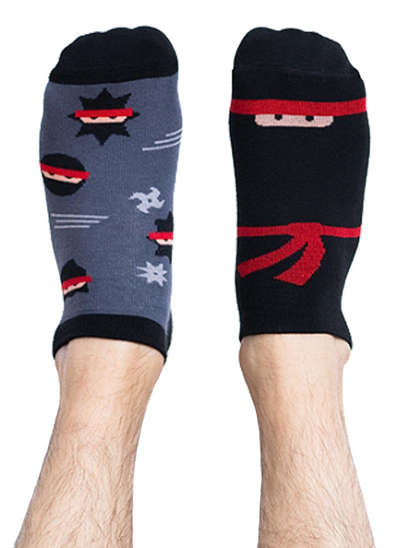 Stopki kolorowe ninja Foot Fighter low