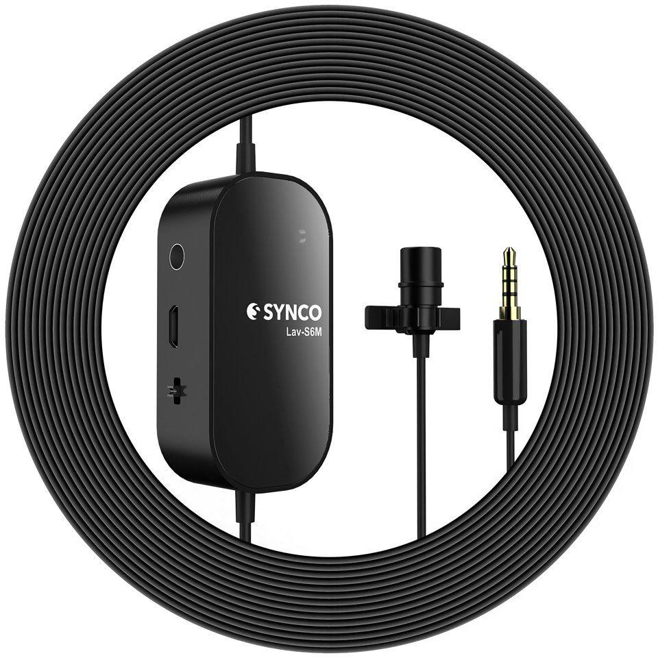 Mikrofon krawatowy z odsłuchem Synco S6M