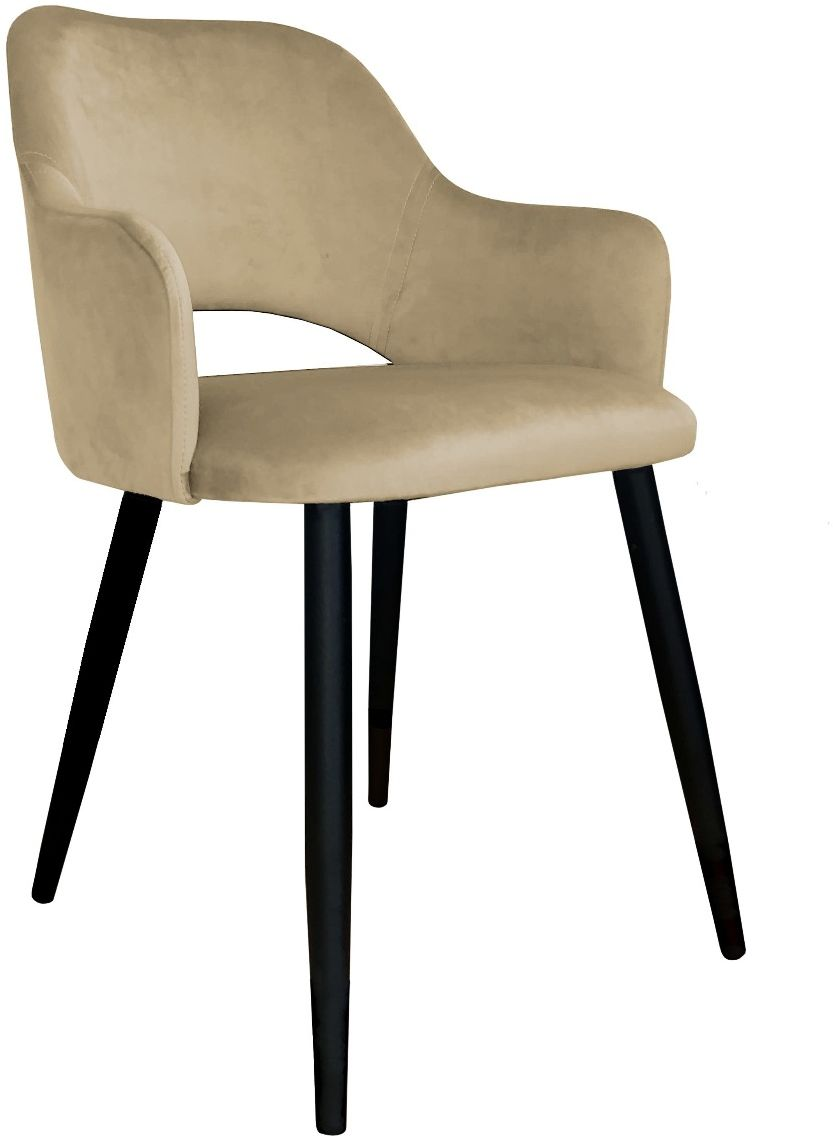 Krzesło NAPO VELVET beżowe