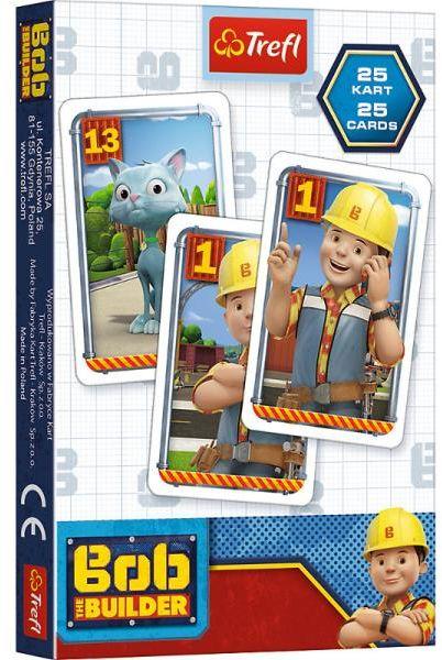 Karty Piotruś Bob budowniczy p20 08491 Trefl (08491 TREFL)