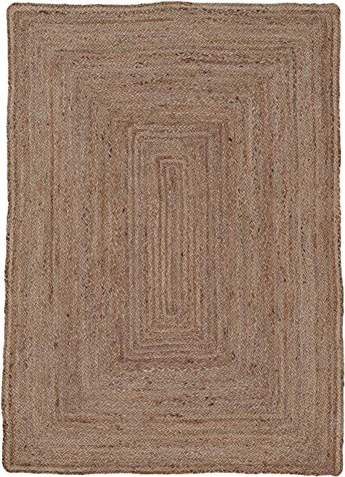 carpetfine Dywan z juty, 100% juta, beżowy, 80 x 150 cm