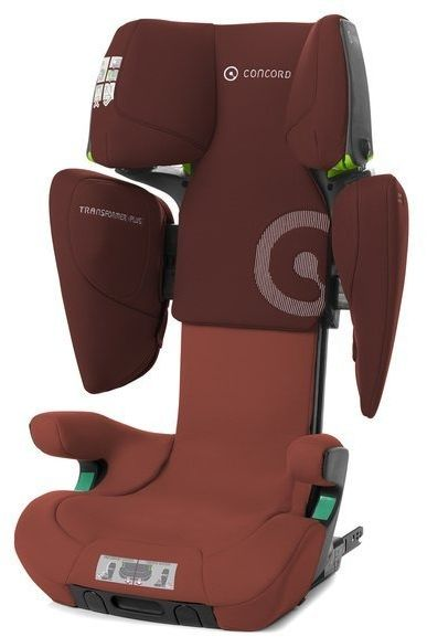 Concord transformer iplus grape red fotelik 15-36 kg twinfix + mata gratis!