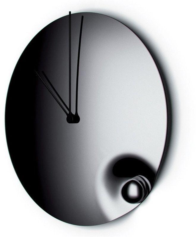 Casa bugatti - acqua - zegar - średnica 31 cm