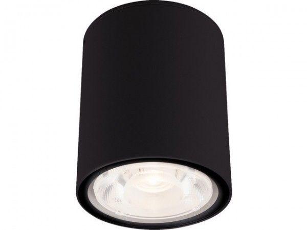 Tuba natynkowa LED Edesa M IP54 czarna szczelna 9107 - Nowodvorski Do -17% rabatu w koszyku i darmowa dostawa od 299zł !