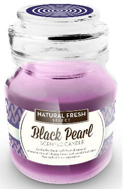 NATURAL FRESH SCENTED CANDLE Świeca zapachowa Black Pearl