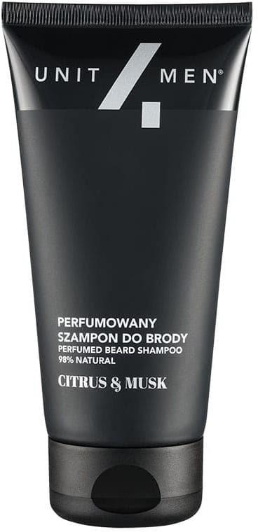 Unit4Men Perfumowany szampon do brody Citrus&Musk
