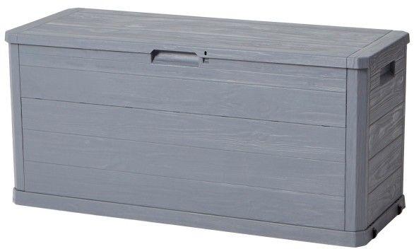 Skrzynia plastikowa 117 x 45 x 56 cm szara