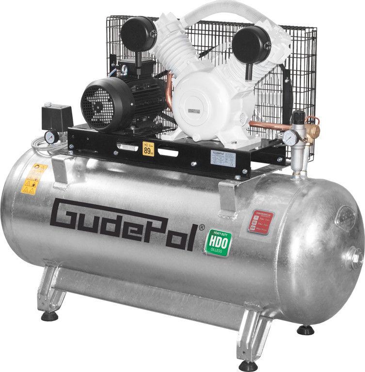 Sprężarka tłokowa Gudepol HDO 50/270/680 (bezolejowa)