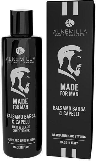 Alkemilla Eco Bio Cosmetic Odżywka do brody i włosów Made For Man - Alkemilla