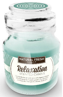 NATURAL FRESH SCENTED CANDLE Świeca zapachowa Relaxation