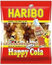 Haribo Happy Cola Żelki Buteleczki Coli 100g