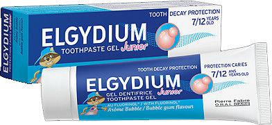 Elgydium Junior Bubble Pasta do zębów dla dzieci 7-12 lat 50 ml
