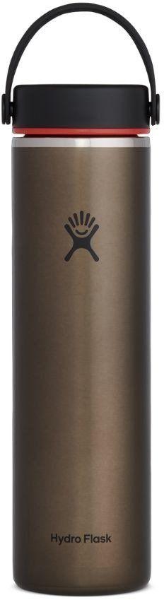 Butelka termiczna 710 ml Lightweight Wide Mouth Trail Series Hydro Flask - obsidian