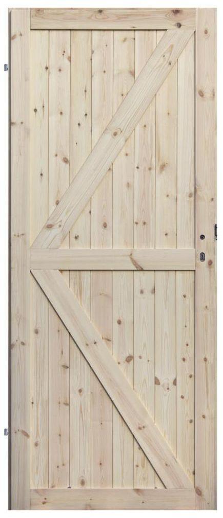 Skrzydło drzwiowe drewniane LOFT II 80 Lewe RADEX