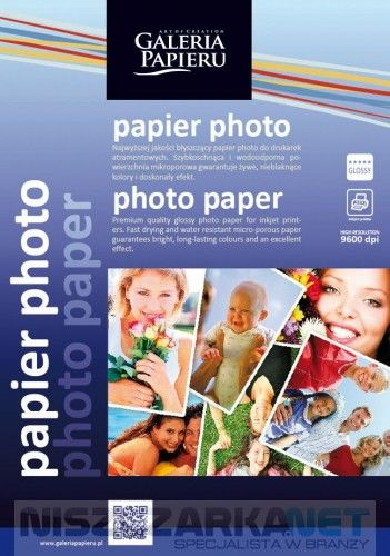 Papier photo 13x18cm - glossy - 180 g/m2 - 50 ark / fotograficzny błyszczący