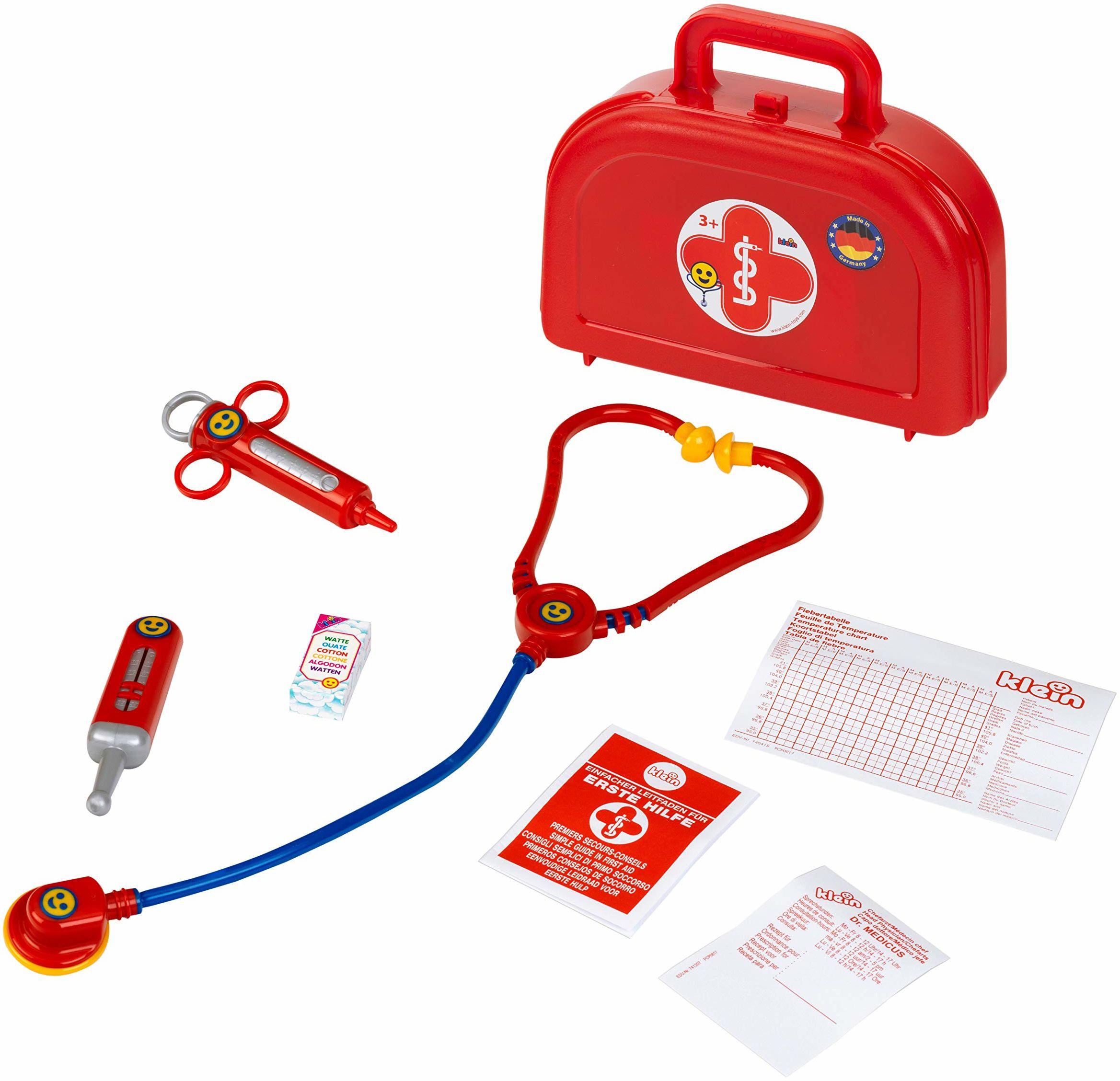 Theo Klein 4420 długopisy lekarskie, półokrągłe, małe, zabawkowe