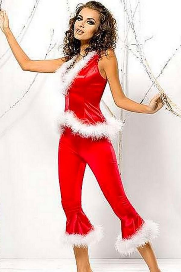 Santa Lady pants + Vest