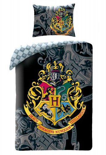 Halantex Pościel bawełna 140x200 Harry Potter Black