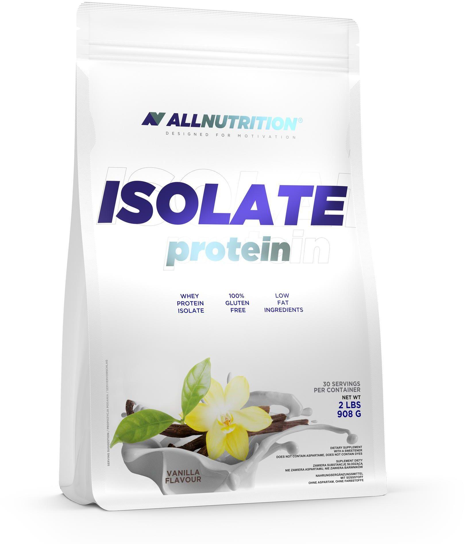 Odżywka białkowa ISOLATE PROTEIN 908 g VANILLA ALLNUTRITION