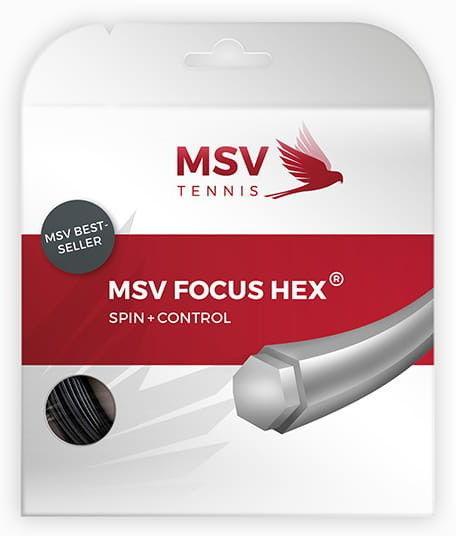 MSV FOCUS HEX (12,2M) - BLACK FH-SET-BK