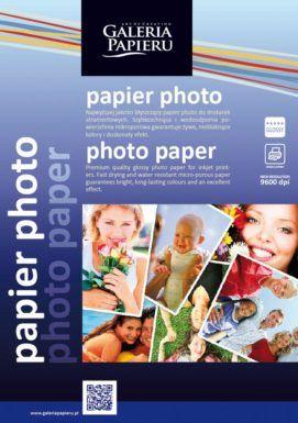 Papier photo A4 glossy - 180 g/m2 - 25 ark błyszczący