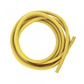 Linka tubingowa do ćwiczeń oporowych i rehabilitacji - 2,5m opór słaby (tubing żółty)
