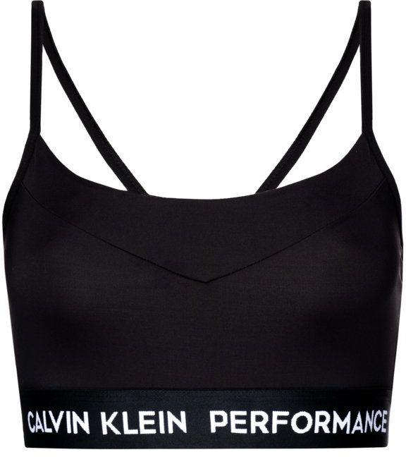 Calvin Klein Performance Biustonosz top 00GWS8K114 Czarny