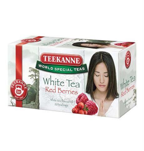 Herbata biała kopertowa TEEKANNE White Tea Red Berries /53599/