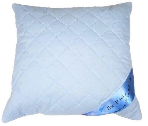 Poduszka 40x40 cm antyalergiczna premium błękitna