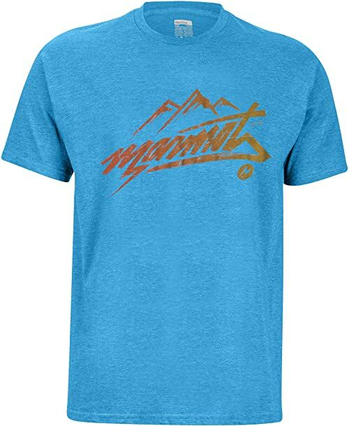 Marmot Męski T-shirt Marmot Rad T-shirt męski niebieski Royal Heather XXL