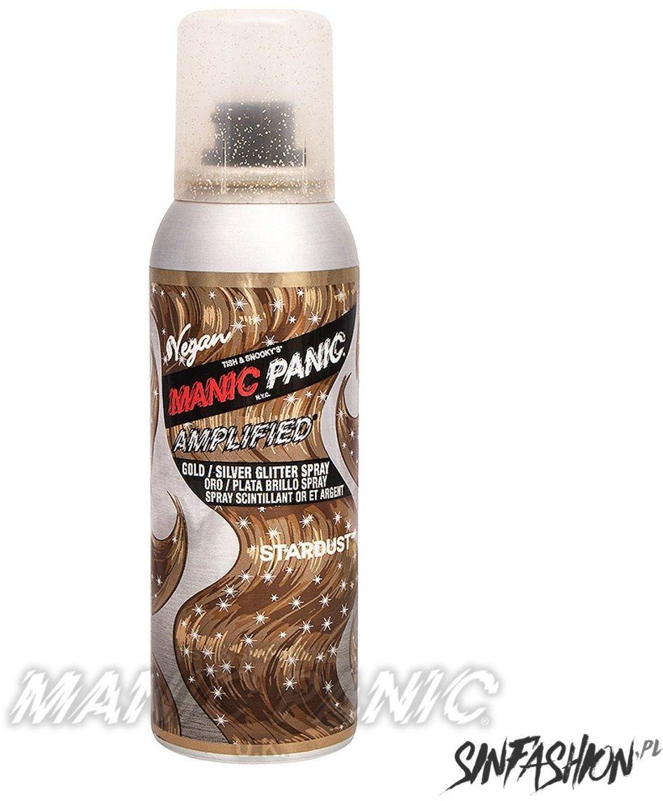 Spray koloryzujący manic panic glitter stardust