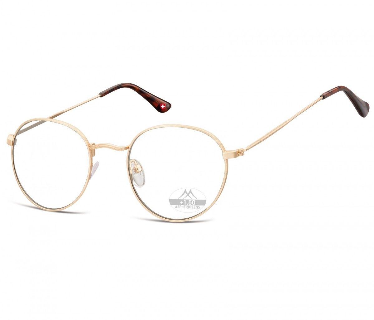 Okulary do Czytania Lenonki asferyczne Montana HMR54A moc: +3,5
