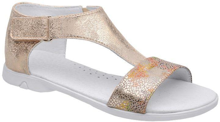 Sandałki dla dziewczynki KORNECKI 4750 Złote Multi - Złoty