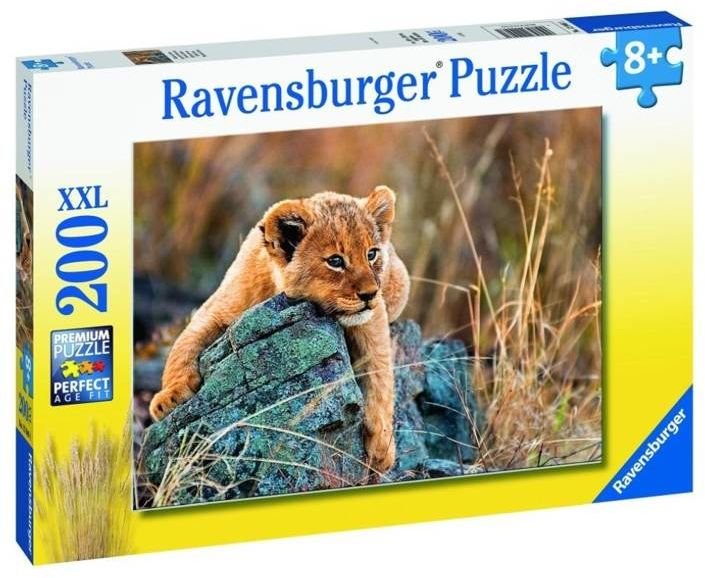 Puzzle 200 Mały lew XXL - Ravensburger