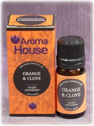 ORANGE CLOVE - Olejek zapachowy Aroma House 6ml