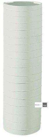 ASA Blue Lines wazon ceramiczny, zielony, 25,5 x 9 x 25,5 cm