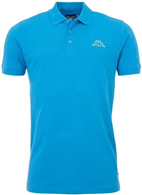 Kappa Męska koszulka polo PELEOT 726 malibu blue, S